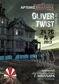 Oliver Twist, The Musical 2013